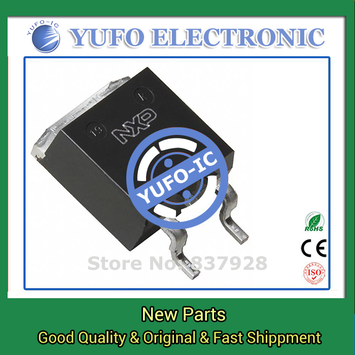 Free Shipping 10PCS PHB45NQ15T 118 original authentic [MOSFET N-CH 150V 45.1A D2PAK]  (YF1115D)