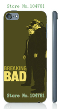 Mobile Phone Cases Retail 1pc breaking bad white hard cases for ipod touch 5 5th Free Shipping