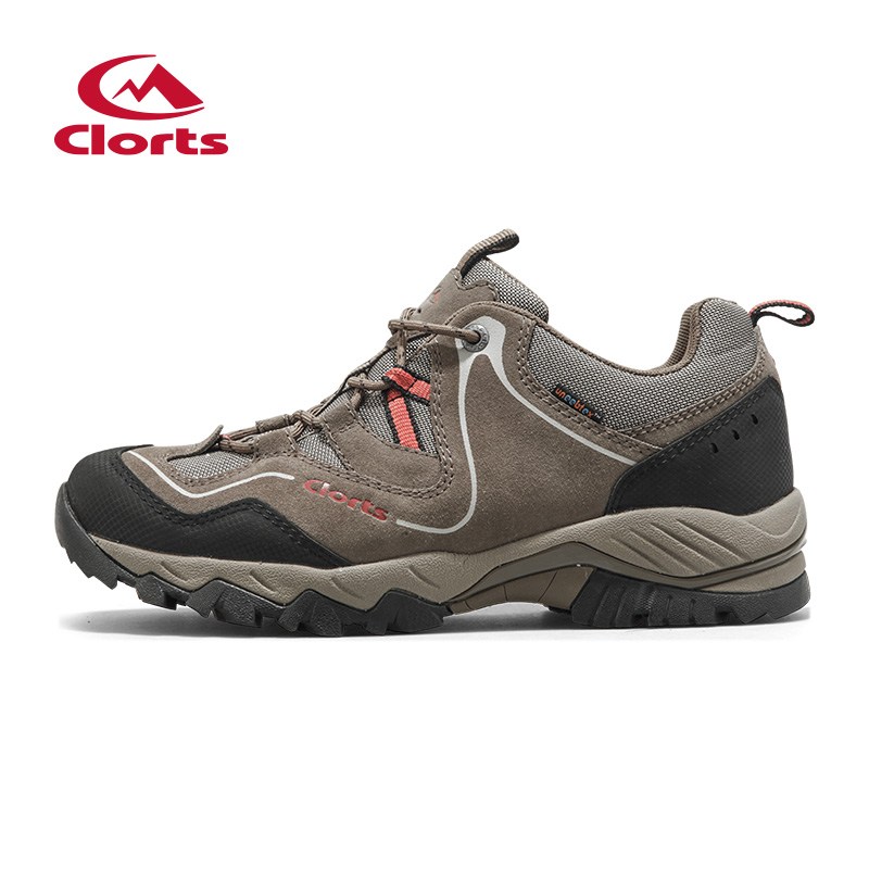 2016 Clorts Men Trekking Shoes HKL-826A/D/G Suede Waterproof Hiking Shoes Sport Sneakers for Male Outdoor Climbing Shoes(China (Mainland))
