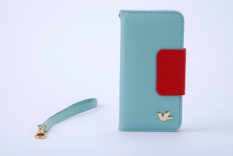 FLOVEME 5 5s New Fashion Retro Flip Case for iPhone 5 5s 5G Cover Luxury Card Holder Phone Bag With String Shell Funda Coque