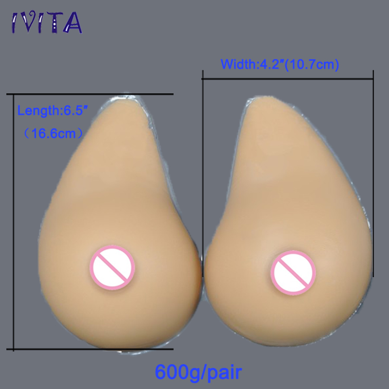 600g/Pair Sudan Silicone Breast Prosthesis Realistic Silicone Breast Forms Artificial Boobs Mastectomy A Cup(China (Mainland))