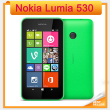 "2016 Time-limited Real Original Nokia Lumia 530 for Windows 8.1 4.0"" Touch Screen Quad Core Dual Sim 4gb Rom 5mp Camera Wifi Gps(China (Mainland))"