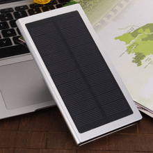 2016 Ultra Slim Luxury Real 12000mah External Solar Power Bank Dual USB Portable Battery Charger for iPhone HTC Xiaomi(China (Mainland))