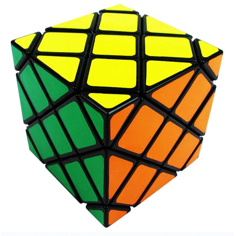 Lanlan Master Skewb ABS Cube Brain Teaser Speed Square Skewb Strange Shape Magic Cube Toy for Children Puzzle Cube Educational(China (Mainland))