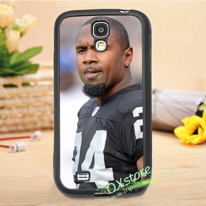 Charles woodson Oakland raiders American football fashion case for Samsung galaxy S3 S4 S5 S6 S7 NOTE 2 NOTE 3 NOTE 4 *H1623(China (Mainland))