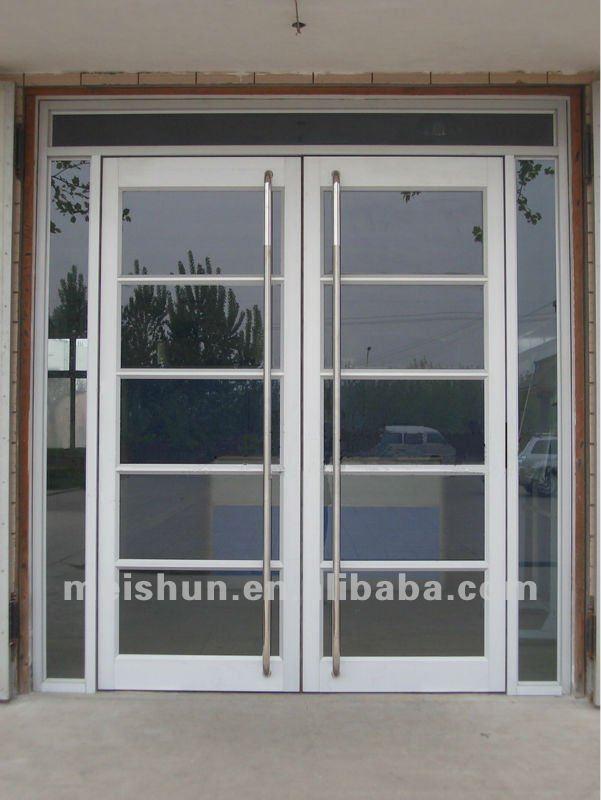 aluminum frame glass door used commercial ms 1102 in doors