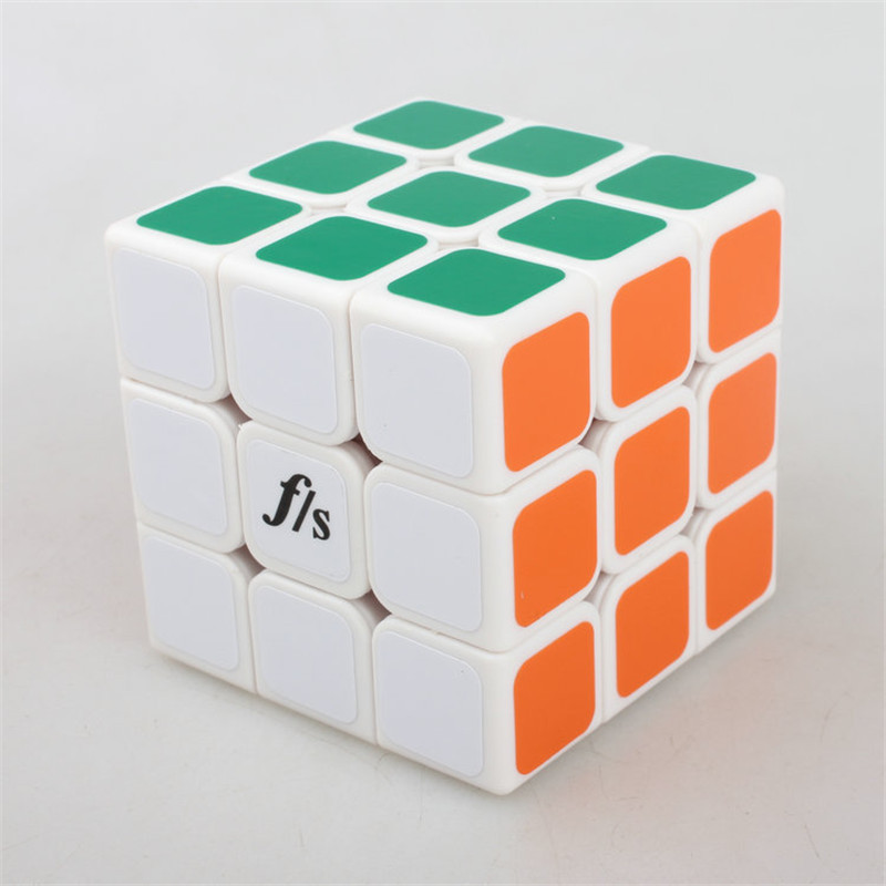 FangShi ShuangRen II 57mm 3x3x3 Puzzle Speed Magic Cube Special Toys Educational Toy challenging toys MF033(China (Mainland))