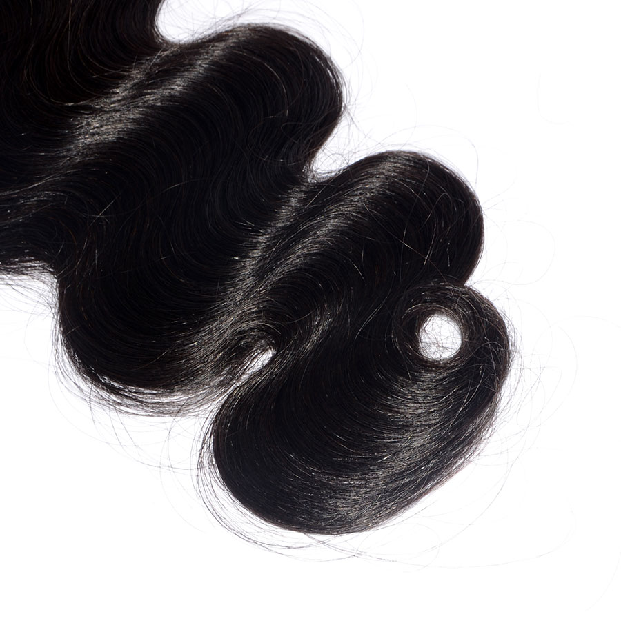 Sunnymay Brazilian Weaving Hair Natural Color Body Wave 100g Machine Made Double Weft Hair Bundles Free Shipping