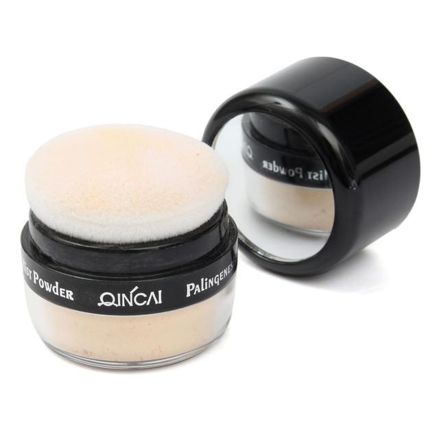 Минеральная пудра широкий долгое яркости нежный макияж голые гладкая кожа основание ...