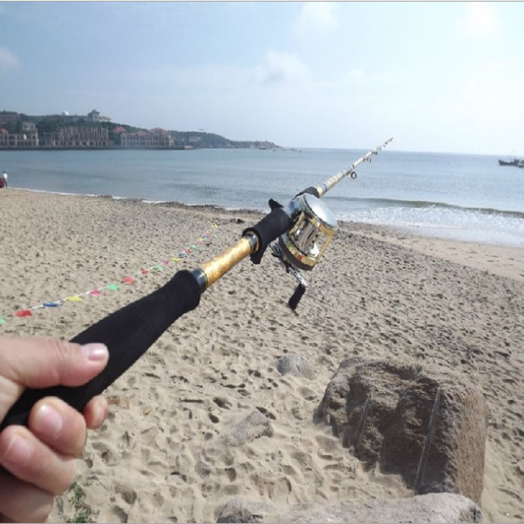 Super Hard Boat Rod Killer Snakehead Halleluyah Grips 2 Section Fishing Rod 99% Carbon Fishing Rods big game free shipping(China (Mainland))