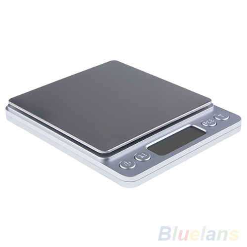 2000g 0 1g Jewelry Kitchen Baking Balance Precision Weight LED LCD Digital Scale 4KB1
