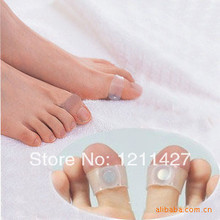 8pair  Slimming Health Silicon Magnetic Foot Massager Massge relax Toe Ring for Weight Loss Relaxation Care