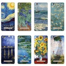 Buy 5.0 inch Phone Case Xiaomi Redmi 4a Cover Transparent Ultra Thin Redmi 4A Shell Silicon Van Gogh Pattern Fundas for $1.99 in AliExpress store