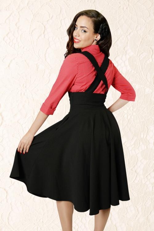 Suspender dress plus size