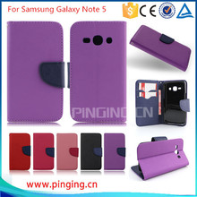 2015 fashion Newest Luxury PU Leather Cover Samsung Galaxy Note 5 BY FREE DHL (xkm) - NO.2 Case store