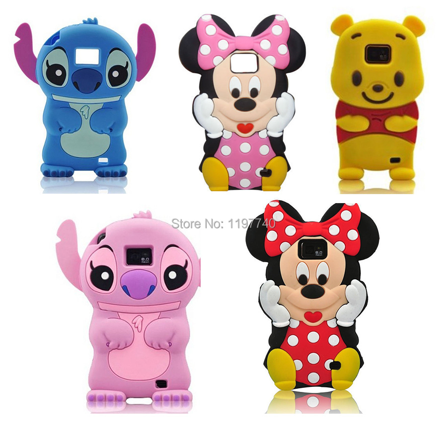3D Cute Cartoon Animals Soft Silicone Case for Samsung galaxy s2 SII 2 i9100/ S3 SIII i9300 Back Covers(China (Mainland))
