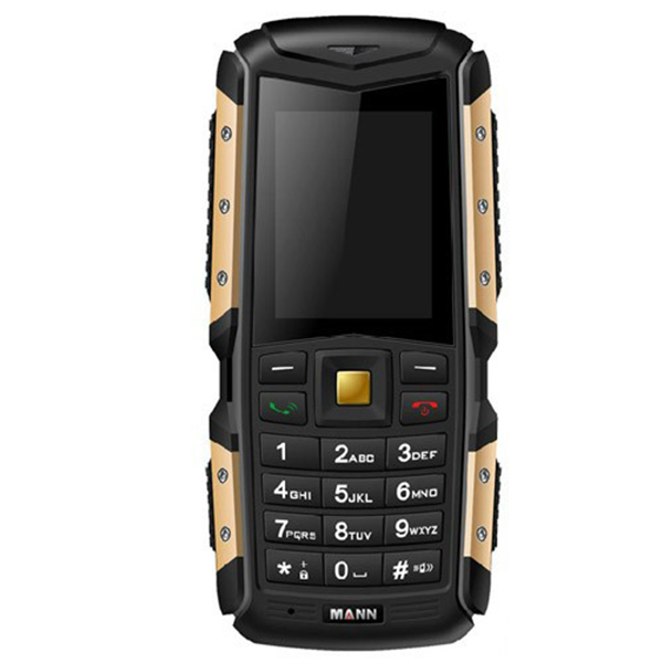 MANN ZUG S 2.0 inch MTK6260A 2570mAh Battery IP67 Waterproof Mobile phone Dual SIM card(China (Mainland))