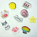 1 PCS Free Shipping Harajuku Pin Badge Animal Stars Brooch Balloon Backpack Badges