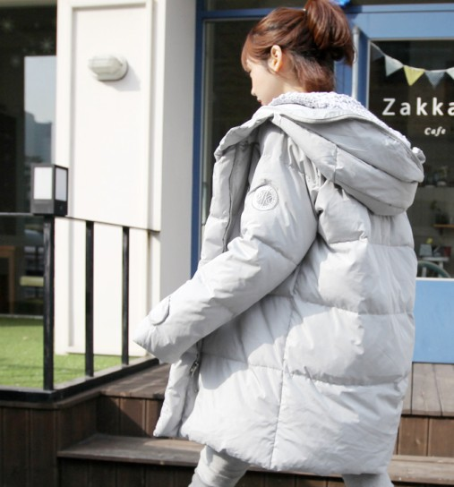 2015 New Female Hooded Wadded Jacket Women's Winter Snow Down Cotton Outwear Casual Parkas Ladies Long Coat Plus Size 925-168F