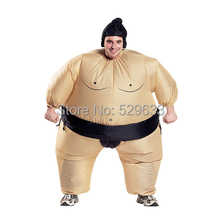 2015 newest Inflatable sumo costume Halloween party fancy costume animal costume for adults with free shipping()