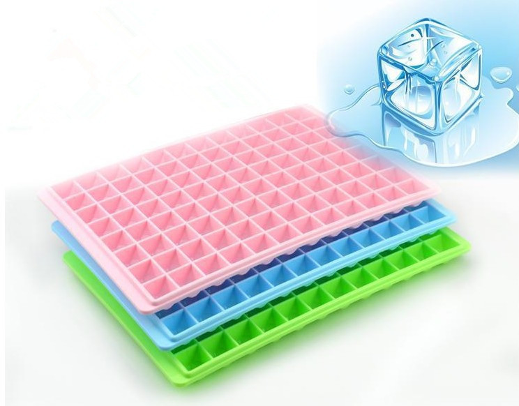 2016 Mini Creative Plastics Ice Making Cube Mold Trays 18Cubes 96Cubes(China (Mainland))