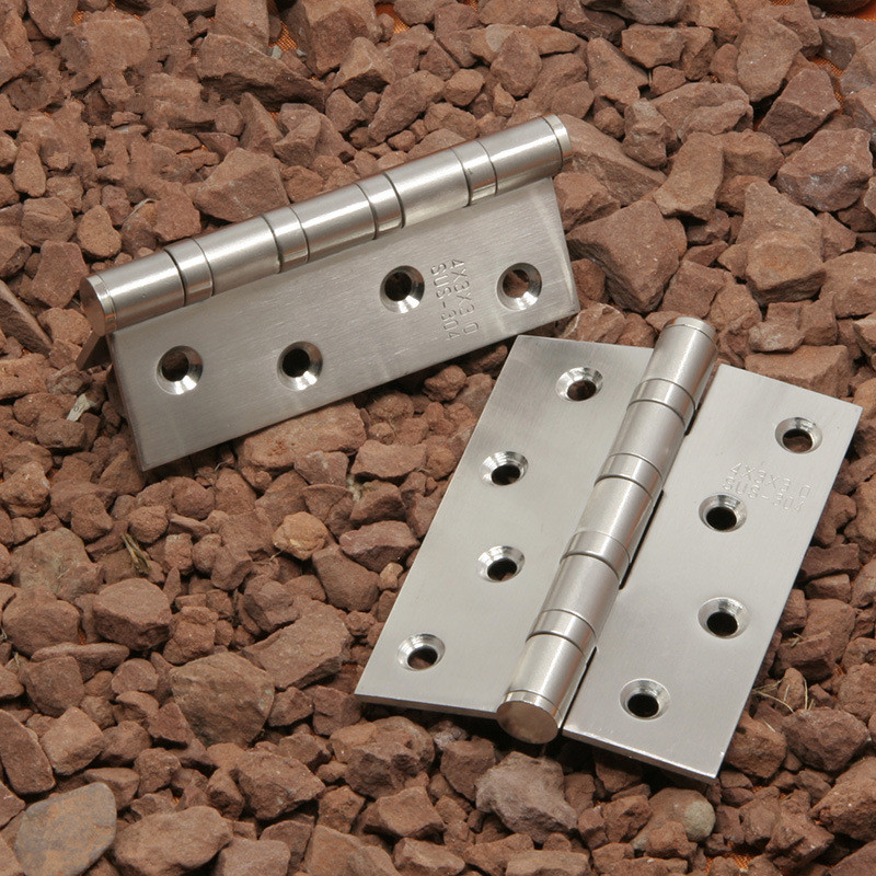 100mm Stainless Steel solid Hinge Door Hinge DIY Accessories Luggage High Quality extra thick #307(China (Mainland))