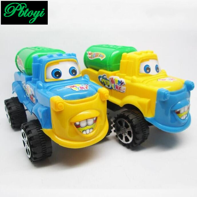 Free shipping high quality pixar car toy model pull waterwheel loaded car toys children gifts low price TN840(China (Mainland))