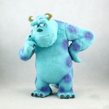 Free shipping Action Figure Toys Monsters Inc. James P Sullivan Sulley Garage Kit Doll Brinquedos Anime KB0493
