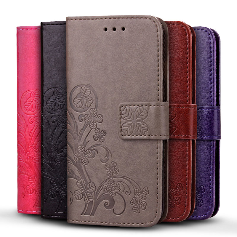 iCoque Flip Wallet Case For iPhone 4S 4 Luxury Lucky Four Leaf Clover Cover for iPhone 4S 4 Coque Leather(China (Mainland))