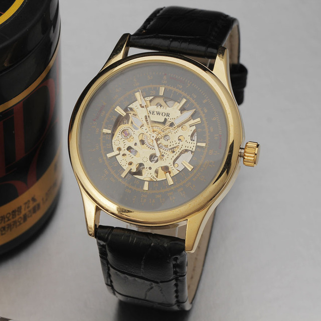 Men Automatic Wristwatches Self Wind