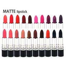 New 20Pcs/Lot makeup Lipstick maquillaje beauty make up lips batons liquido matte lipstick pintalabios lipsticks