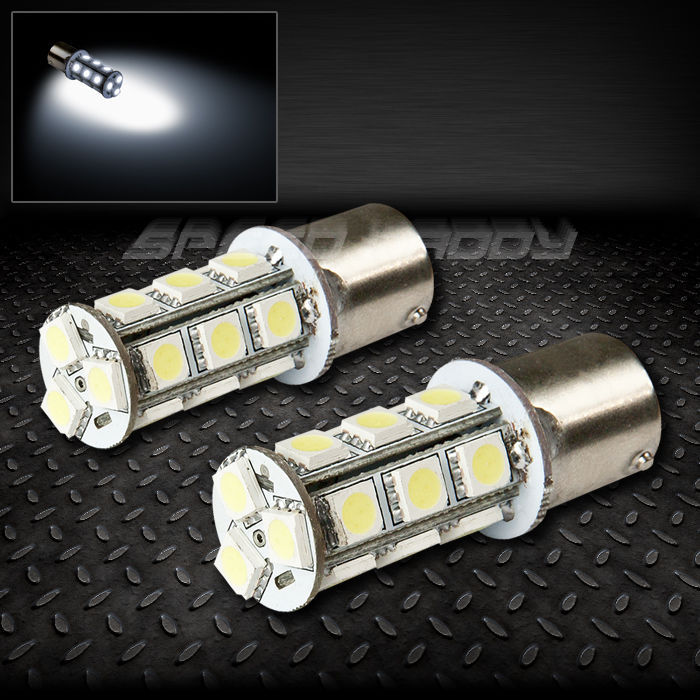 Free Shipping! 2PCS 18SMD 1156 BA9S HID XENON WHITE Amber Red 5050 12V 360 degree LED BREAK TURN SIGNAL TAIL LIGHT BULB LAMP(China (Mainland))