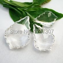 10pcs,Top Quality 38*22mm Crystal chandelier pendants, Crystal Pendant for Chandelier, crystal chandelier parts,(China (Mainland))