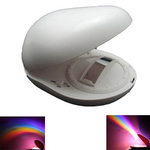 portable Kids baby Led night light lamp projector Christmas gift LED Rainbow Projector Romantic Rainbow Lamp Light Projector(China (Mainland))