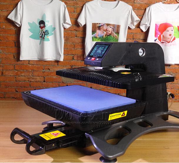 Freesub ST-420 Auto Pneumatic 3D Sublimation Vacuum Heat Press Transfer Machine for T-shirt Phone Case Mugs Plates Photo Frame(China (Mainland))