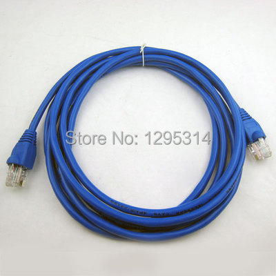 Ethernet Local Area Network CAT5e Internet LAN Cable DSL Router Modem 3M 9681 Zh3U8(China (Mainland))