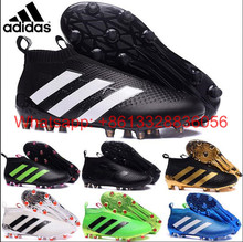 2017 new High Ankle original FoOTBaLls BoOTs FG AG Outdoor SoCCeRs Ace 16 Purecontrols shoes eur 39-46(China (Mainland))