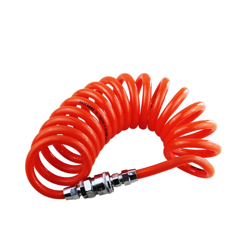 1pc Orange Colors 6M 8mm x 5mm Polyurethane PU Air Compressor Hose Tube for Compressor Air Tool(China (Mainland))