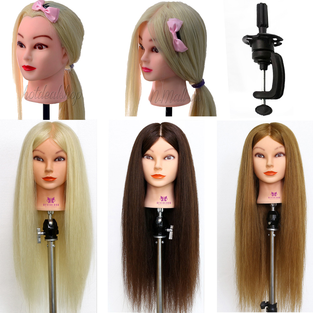 Aliexpress.com : Buy 90% Real Hair Hairdressing Doll Heads