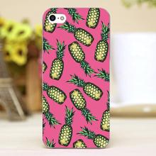 Pineapple Pattern Design Customized transparent case cover cell mobile phone cases for Apple iphone 6 6plus hard shell