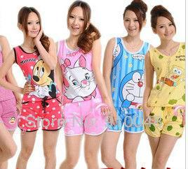 2015 summer new women pajamas super quality comfortable sleepwear for women fashion women nightwear