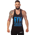 New 2016 Fashion Cotton Sleeveless Shirts Tank Top Men Fitness Shirt Mens Singlet Bodybuilding Plus Size