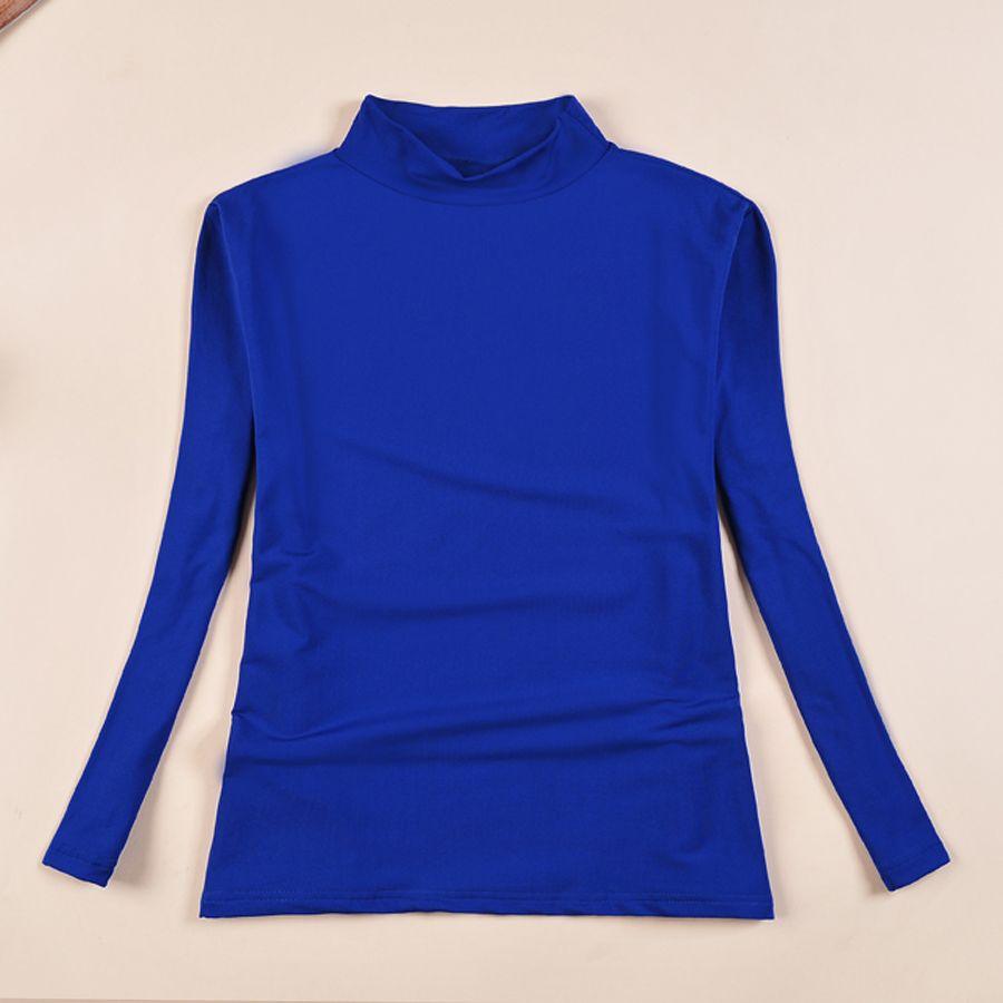 New 2015 Winter T Shirt Women Tops Plus Size Woman Clothes