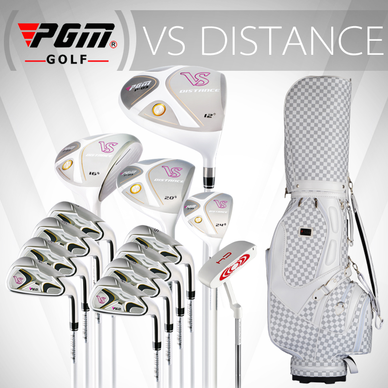 PGM-VS for Ladies, Titanium alloy for the driver. Full golf set in graphite shaft. Professional Luxury golf clubs complete set(China (Mainland))