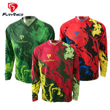 Buy Fury Race Mens MTB Jersey Downhill Cycling Clothing 2017 DH Bicycle Bike Shirt Motocross Jerseys Motorcycle Long Sleeve Clothes for $16.49 in AliExpress store