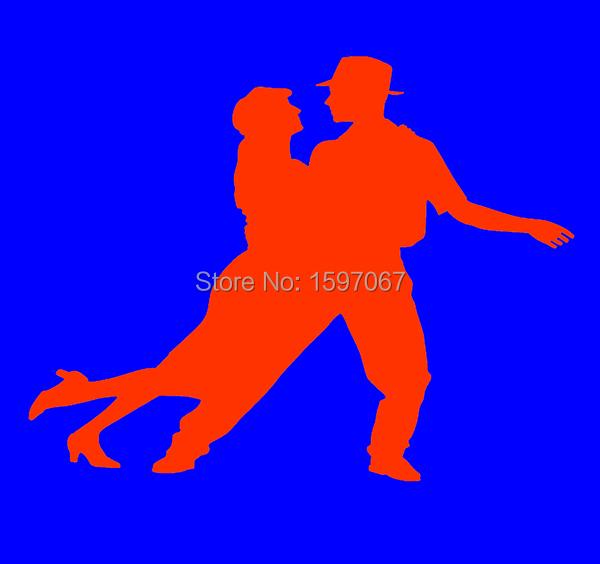 Swing Dance Dancing Music Graphic High Quality Sticker Car Window Truck Door Art Wall Camping Cute Vinyl Decal Fast Shipping(China (Mainland))