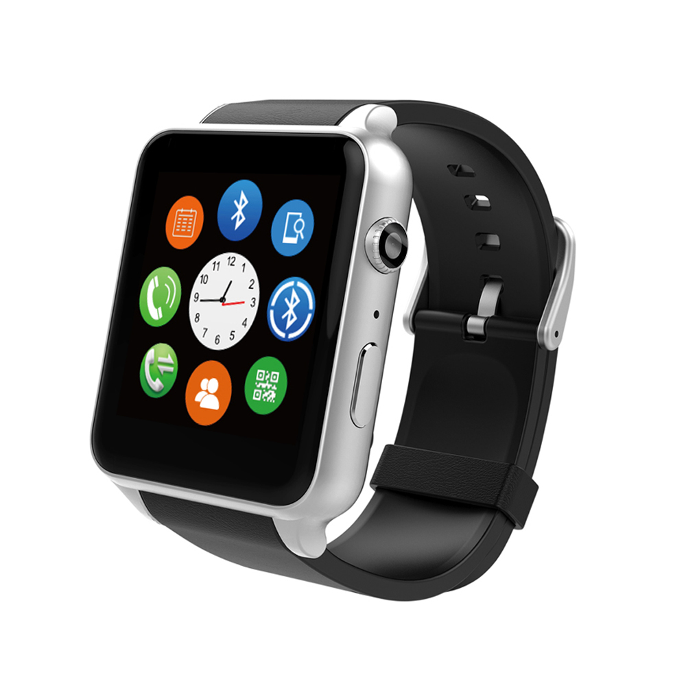 HD Camera SIM Card Bluetooth Smart Watch Phone Magnetic Charging Smartwatch Compatible for Apple iPhone Android Smartphones(China (Mainland))