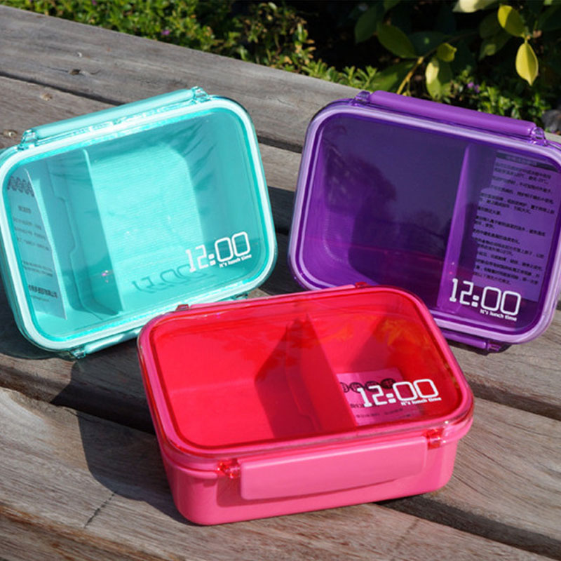 japanese lunch box microwave food containers new loncheras colored plastic bento lunch box. Black Bedroom Furniture Sets. Home Design Ideas