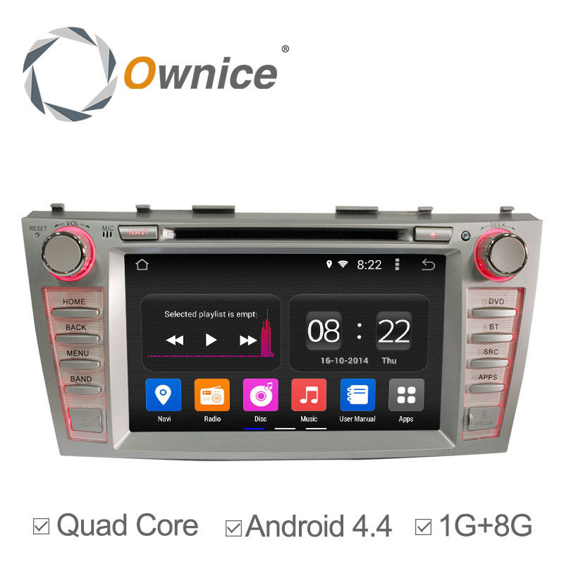 Quad Core 8 Android 4.4 Car DVD Player GPS Navi For Toyota Camry 2006 2007 2008-2011 Radio Multimedia Support 3G wifi BT OBD<br><br>Aliexpress