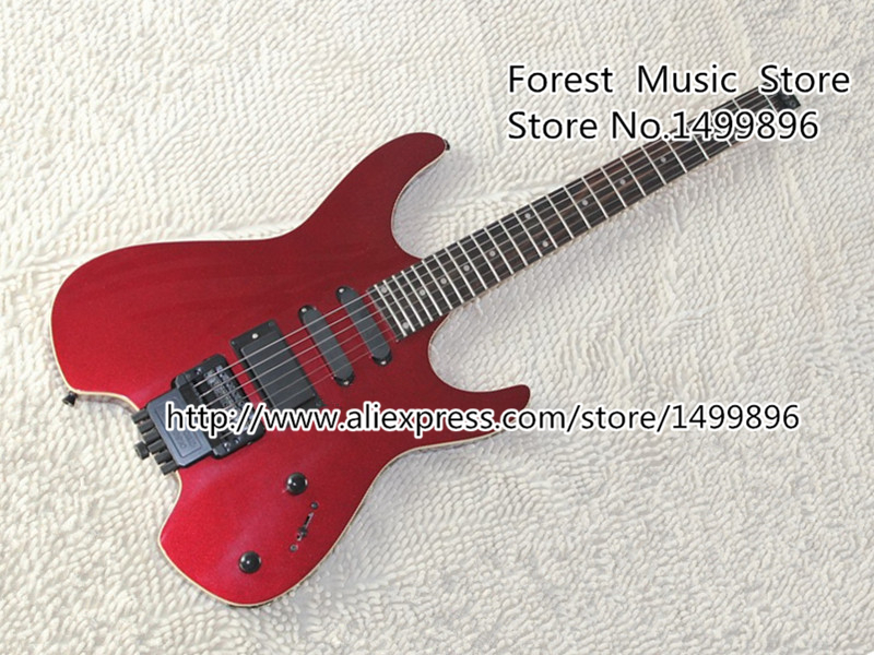 High-quality Chinese Musical Instrument Red Steinberg Z-Series Headless Electric Guitar Body &amp; Kits Custom Available<br><br>Aliexpress